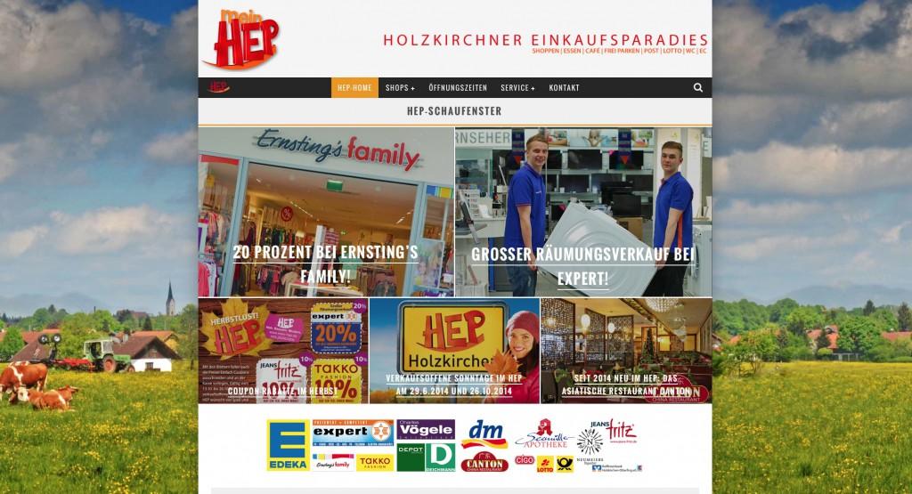 Die neue HEP-Website!