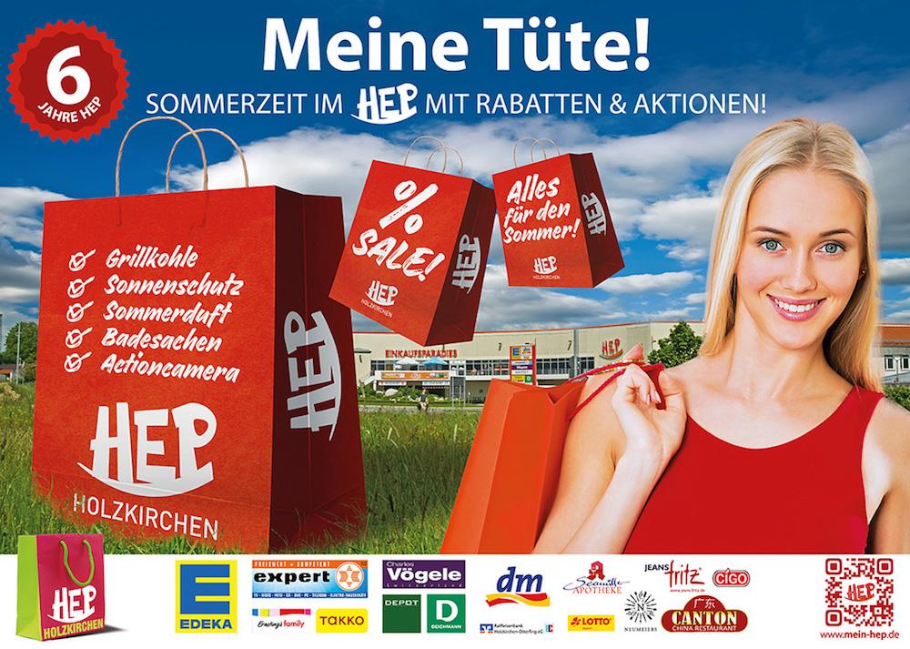 Unser HEP-Großplakat für den Sommer 2016!